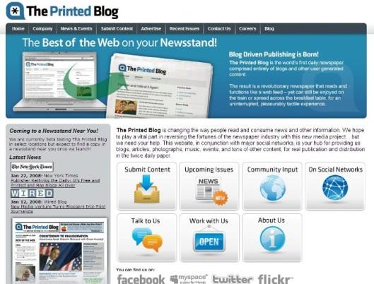 theprintedblog