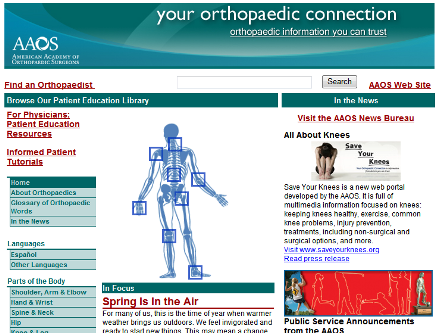 AAOS-orthopedic-connection